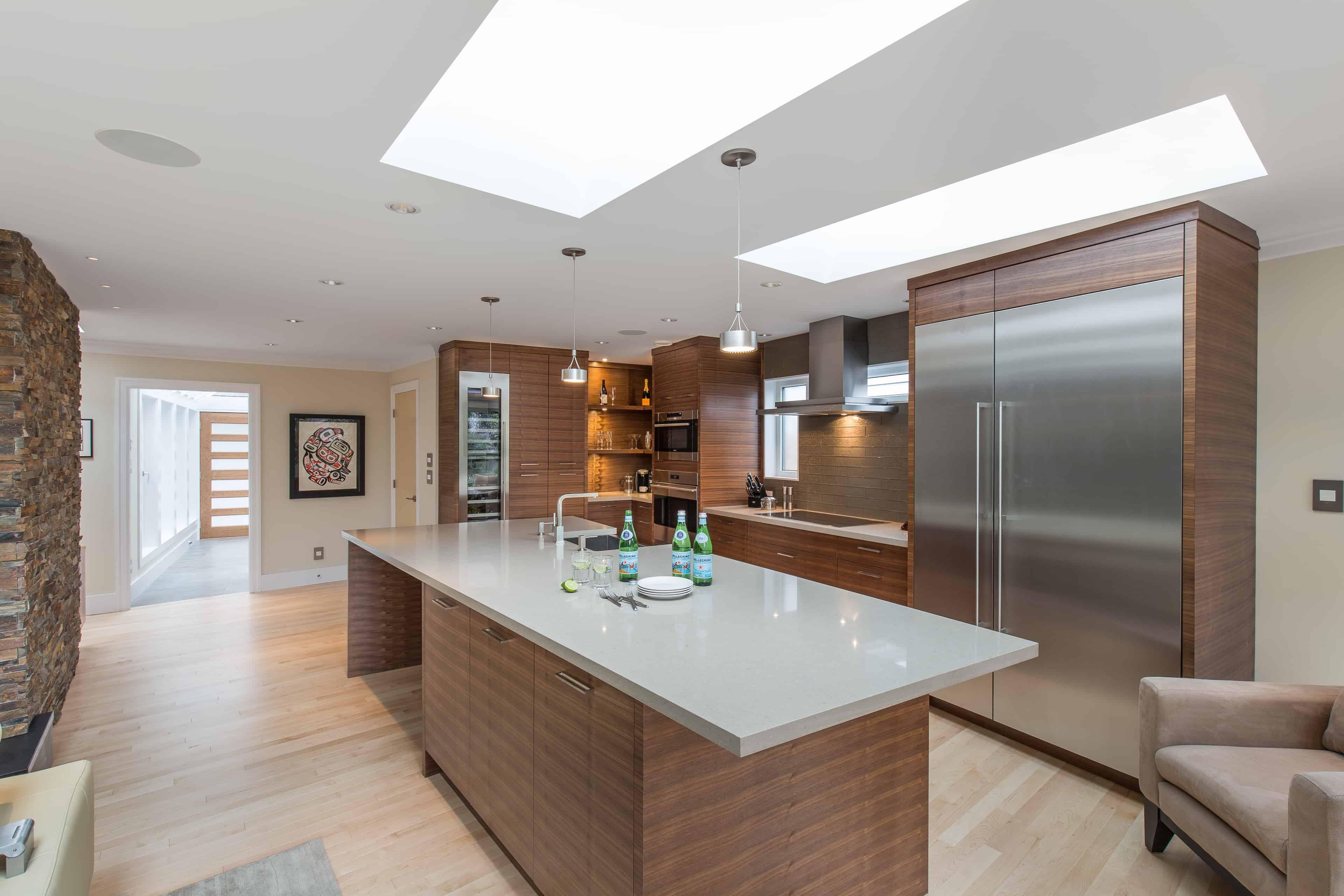 Sasen Renovations modern kitchen addition